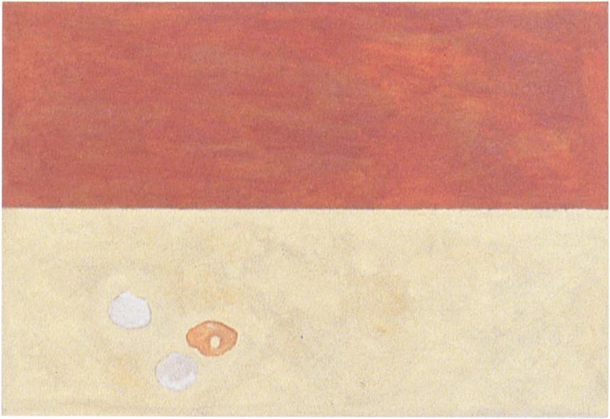 Fiona Foley Shells, 1998; oil on canvas; 40 x 39 cm; enquire