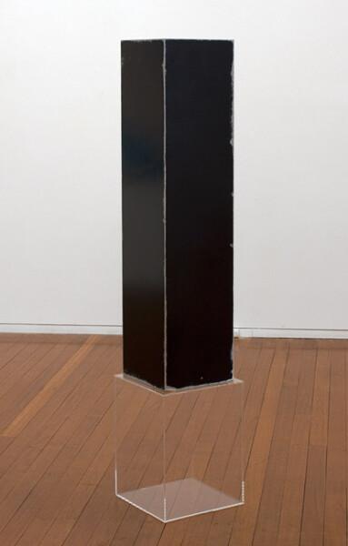 Carla Liesch Hour Glass I, 2012; MDF, acrylic paint, perspex plinths, estrapol; 168 x 34 x 34 cm; enquire