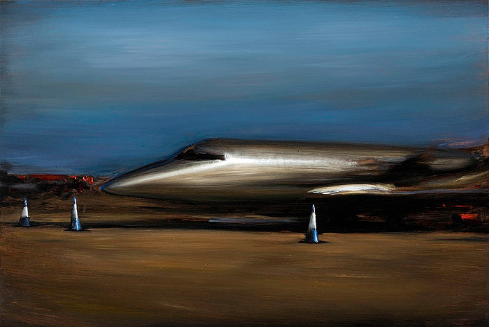 Louise Hearman Untitled #1286, 2009; oil on masonite; 61 x 91 cm; enquire