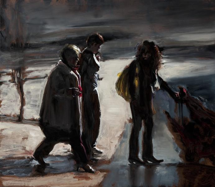 Louise Hearman Untitled #1330, 2011; oil on masonite; 61 x 70 cm; enquire