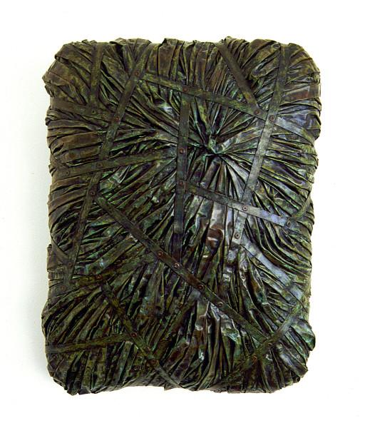 Bronwyn Oliver Wrap, 1997; copper; 45 x 35 x 12 cm; enquire