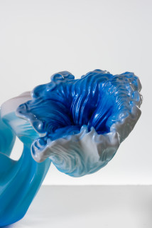 Patricia Piccinini Shoeform (Angiosperm) (detail), 2020; resin and automotive paint; 59 x 72 x 72 cm; Edition of 3 + 1 AP; enquire
