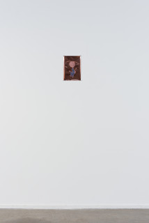 installation view; A Constructed World Reverse Devil, 2021; Heat transfer on copper sheet; 28.5 x 20 cm; edition of 8; enquire