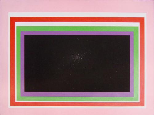 David Noonan The Pleasure garden of Filiep Sagitarius #3, 2001; acrylic and airbrush on canvas; 45.7 x 60.7 cm; enquire