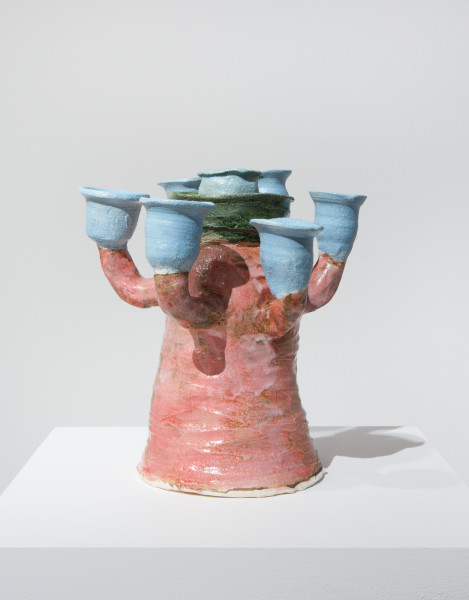 Angela Brennan Potami, 2014; earthenware; 27.5 x 28 x 28 cm; enquire