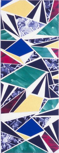 Howard Arkley Deco, 1979; acrylic on canvas; 203.6 x 78.6 cm; enquire