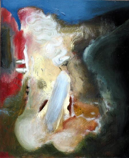 Louise Hearman Untitled #1138, 2005; oil on masonite; 27 x 22 cm; enquire