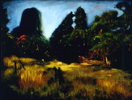 Louise Hearman Untitled #398, 1995; oil on masonite; 69 x 92 cm; enquire