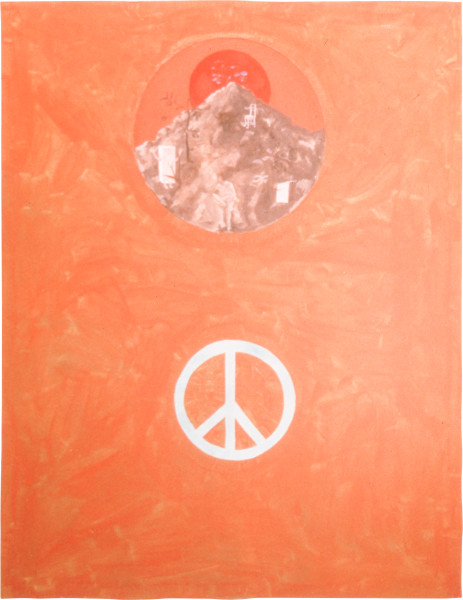 Geoff Lowe Face I, 1987; synthetic polymer paint and oil on canvas; 152 x 122 cm; enquire