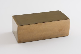 Mikala Dwyer Eggs, 2021; ceramic, glaze; 8 x 24 x 12 cm; Edition of 15; enquire