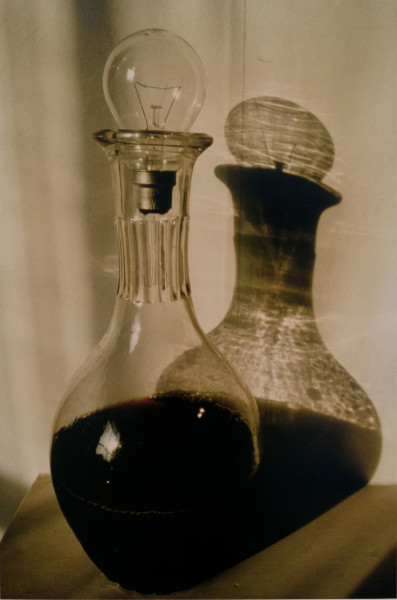 Bill Culbert carafe interior, 1989; colour photograph; 31 x 27 cm; Edition of 20; enquire