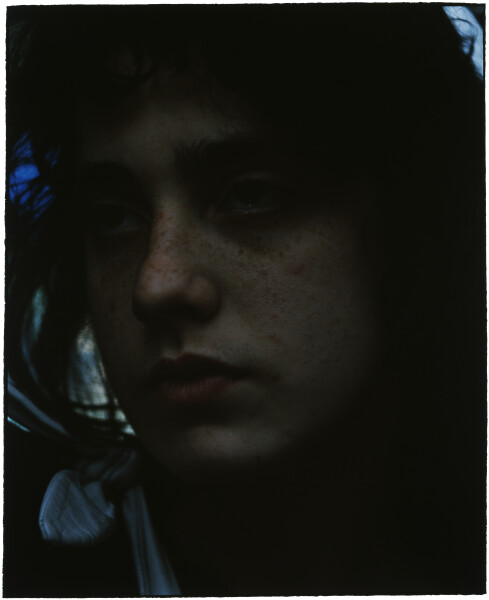 Bill Henson Untitled #112, 1985-86; gallery catalogue reference #?; Type C colour photograph; 134.5 x 114 cm; Paper size: 128 x 100 Image size: 105 x 86cm; Edition of 20; Enquire