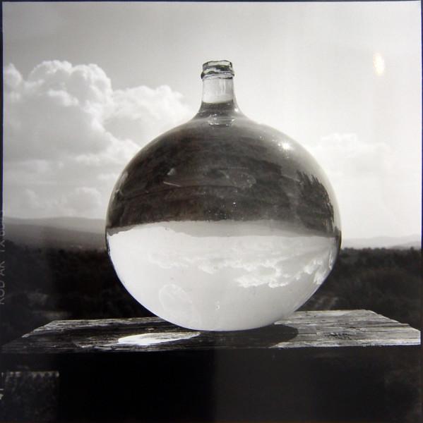 Bill Culbert Bonbonne with Landscape, France, 2002; silver gelatin prints; 40.5 x 40.5 cm; Edition of 25; enquire