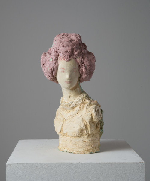 Linda Marrinon Tammy Wynette, 2014; tinted and painted plaster; 39.5 x 19 x 21 cm; enquire