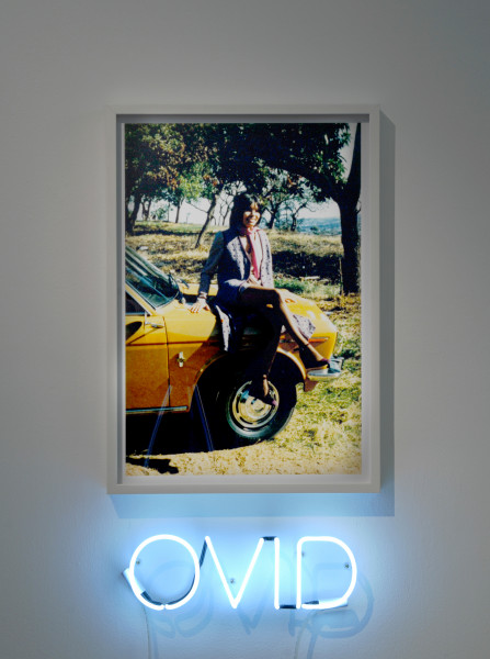 Newell Harry The Date, 2008; neon, framed photograph; 53.5 x 75.5cm (photograph) 45 x 15 x 5cm (neon) ; Edition of 5 + AP 2; enquire