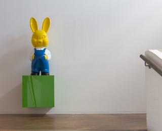 Michael Parekowhai Two Drifters, Off to See the World, 2011; fibreglass, automotive paint; two parts: 140 x 48 x 45 cm; 150 x 48 x 40 cm; Edition of 3; enquire