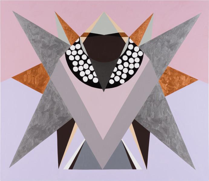 Mikala Dwyer 2, 2021; acrylic on canvas; 198.5 x 229 cm; enquire