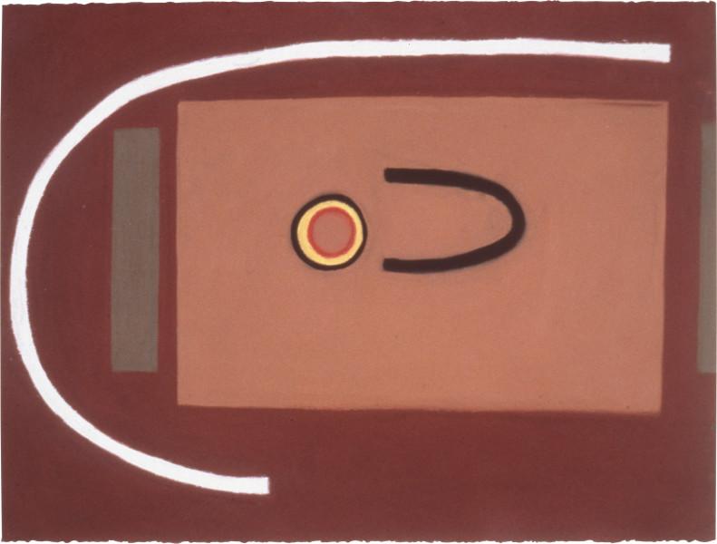 Fiona Foley Barunga, 1988; pastel on paper; 56.5 x 76.5 cm; enquire