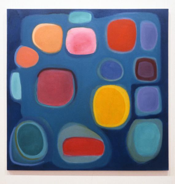 Angela Brennan Untitled, 1993; oil on canvas; 152 x 152 cm; enquire