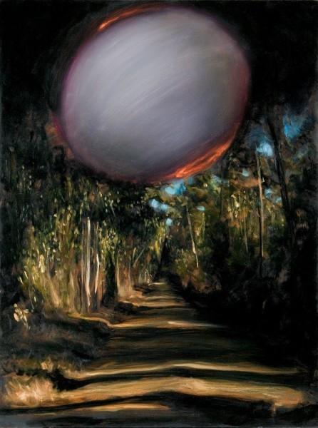 Louise Hearman Untitled #666, 1998; oil on masonite; 91 x 69 cm; enquire