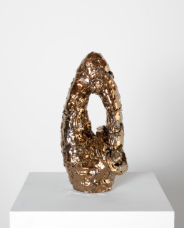 Mikala Dwyer The things in things, 2013; Found object, ceramic, glaze; 40 x 20 x 18 cm; enquire