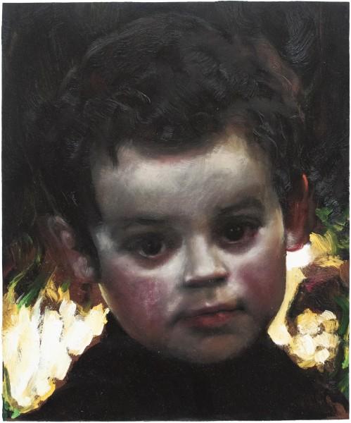Louise Hearman Untitled #1201, 0; oil on masonite; 30 x 25 cm; enquire