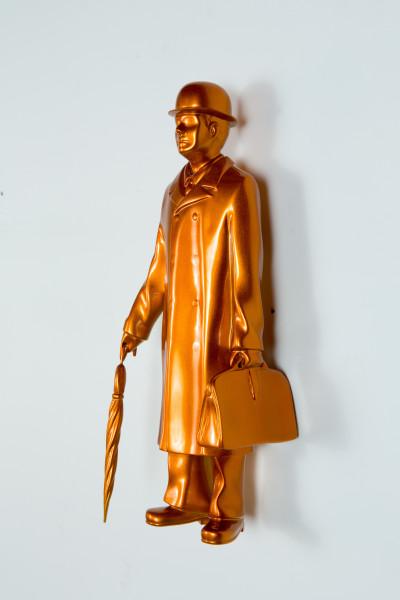 Michael Parekowhai Over the Rainbow, 2015; orange (damaged - to be repaired); fibreglass, automotive paint; 41 x 14 x 12 cm; enquire