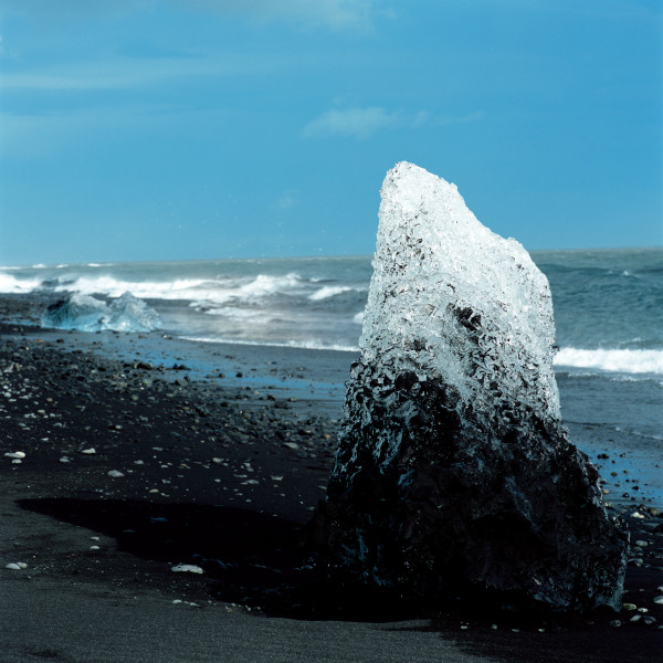 Isaac Julien True North Series, Ice Project Work No. 6, 2006; duratrans in lightbox; 120 x 120 cm; Edition of 6 + AP 1; enquire