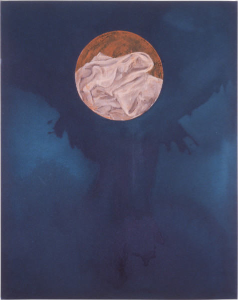 Geoff Lowe Face II, 1987; synthetic polymer paint and oil on canvas; 152 x 122 cm; enquire