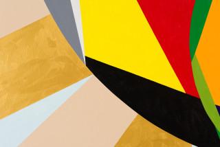 Mikala Dwyer 6 (detail), 2021; acrylic on canvas; 198.5 x 244 cm; enquire