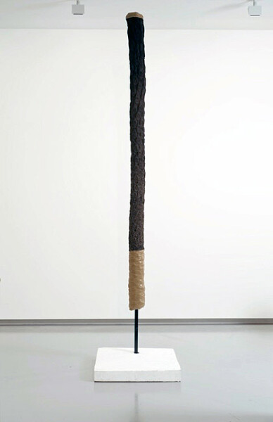 Hany Armanious Weeping Woman, 2012; cast pigmented polyurethane resin; 318 x 71.5 x 86 cm; enquire