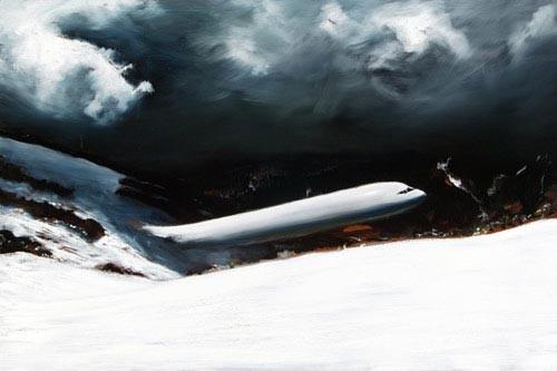 Louise Hearman Untitled #1111, 2005; oil on masonite; 61 x 92 cm; enquire