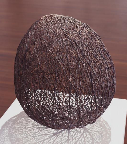 Bronwyn Oliver Acorn, 2005; copper; 60 x 45 x 45 cm; enquire