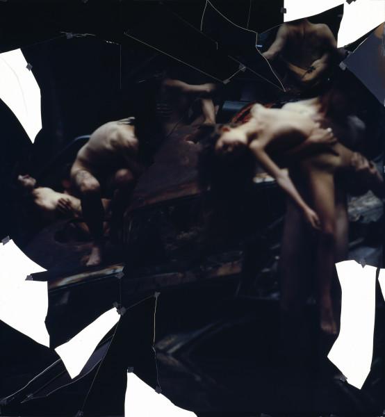 Bill Henson Untitled, 1994; type C photograph, adhesive tape, pins, glassine; 200.2 x 185.3 cm; enquire