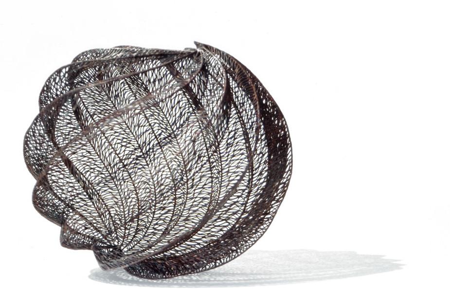 Bronwyn Oliver Twill, 2002; copper; 32 x 32 x 32 cm; enquire