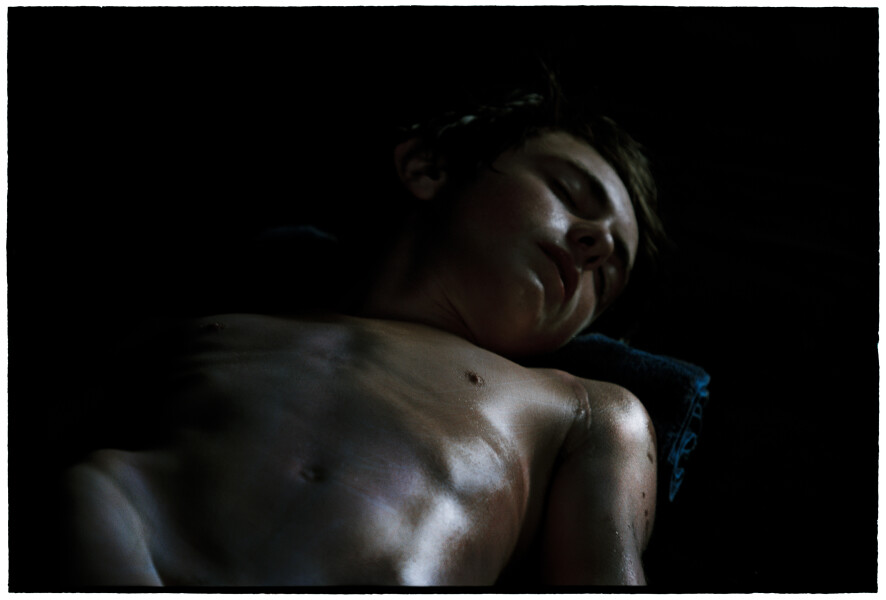 Bill Henson Untitled, 2012-13; LS SH350 N6; archival inkjet pigment print; 127 x 180 cm; Edition of 5 + 2 AP; enquire