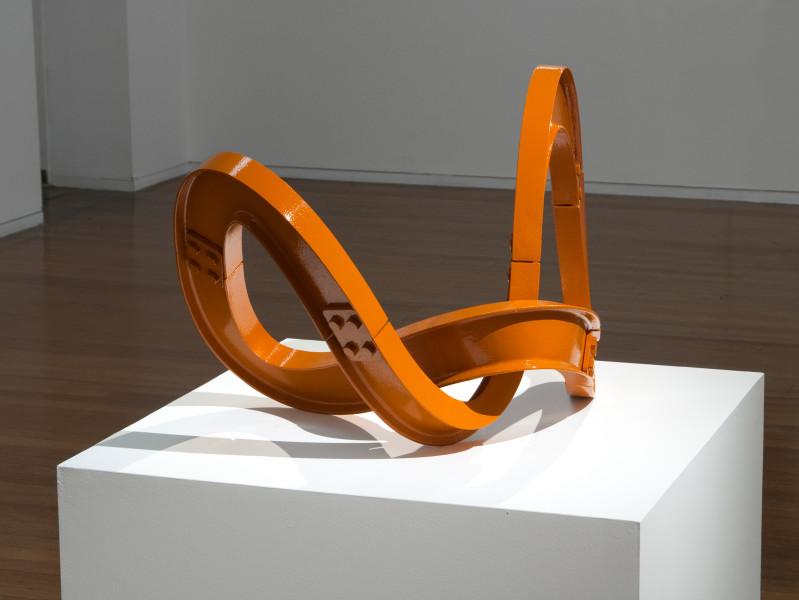 James Angus Torsional I-beam Alignment, 2011; cast steel and enamel paint; 57 x 78 x 66 cm; enquire