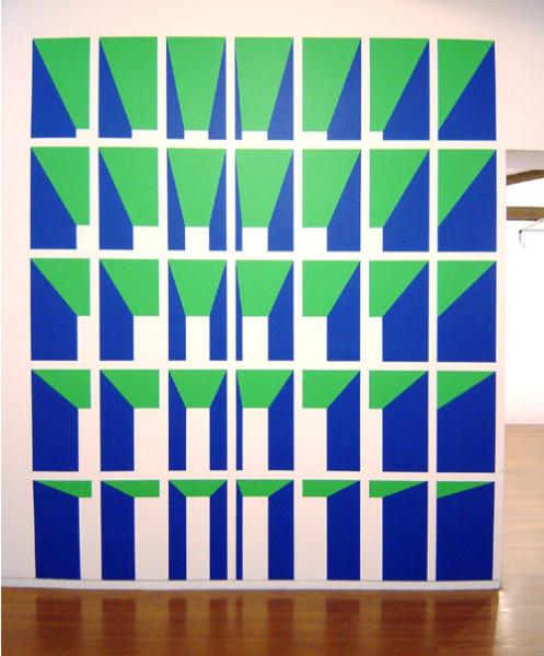 James Angus Untitled, 0; Acrylic paint; 312 x 242 cm; enquire