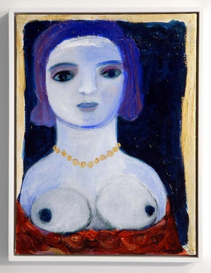 Angela Brennan Venetian Woman, 2006; acrylic on linen; 40.5 x 30.5cm (unframed), 43 x 33cm (framed); enquire