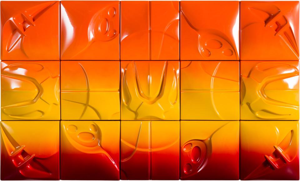 Patricia Piccinini Supernova, 2019; ABS plastic and automotive paint; 150 x 250 cm; enquire
