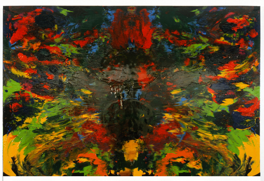 Dale Frank The Good Daddy Painting, 1989; acrylic and resin on canvas; 200 x 300 cm; enquire