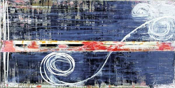 John Firth-Smith Fragment, 2001; oil on linen; 4 x 8 ft; enquire