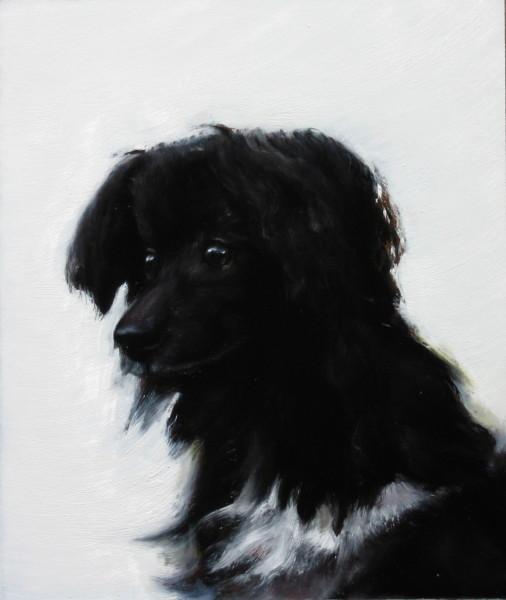 Louise Hearman Untitled #1141, 2005; oil on masonite; 39 x 33 cm; enquire