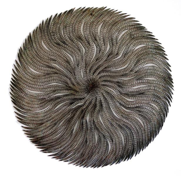 Bronwyn Oliver Fringe, 2006; copper; 107 x 107 x 10 cm; enquire