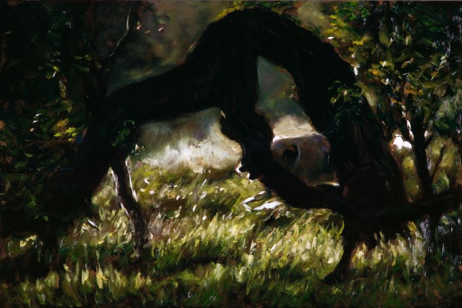 Louise Hearman Untitled #1240, 2007; oil on masonite; 61 x 84 cm; enquire