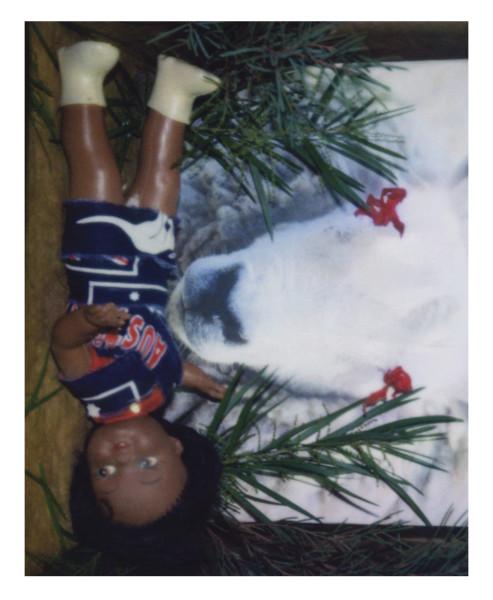 Destiny Deacon Sheep dip, 2006; lightjet print from Polaroid original; 80 x 100 cm; Edition of 8 + 2 APs; enquire