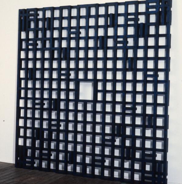 Hilarie Mais Aura, 1990; oil paint on wood; 195 x 195 x 3 cm; enquire