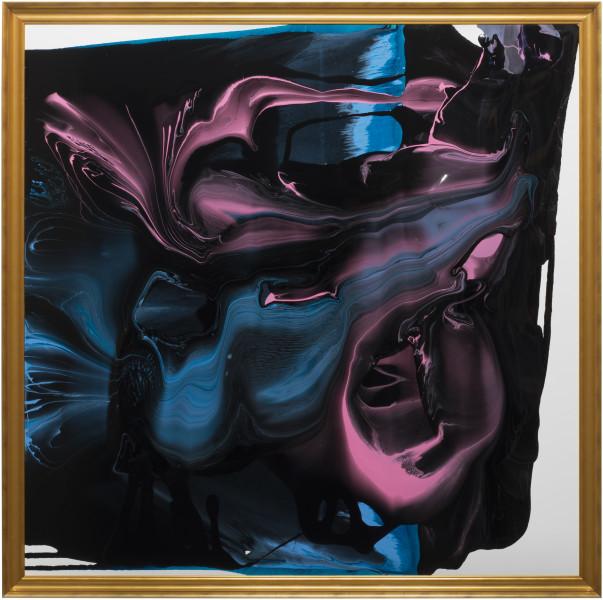Dale Frank No doubt, 2013; varnish on canvas; 200 x 200 cm; enquire