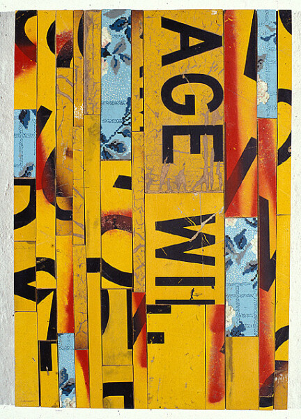 Rosalie Gascoigne Banner 1, 0; enquire
