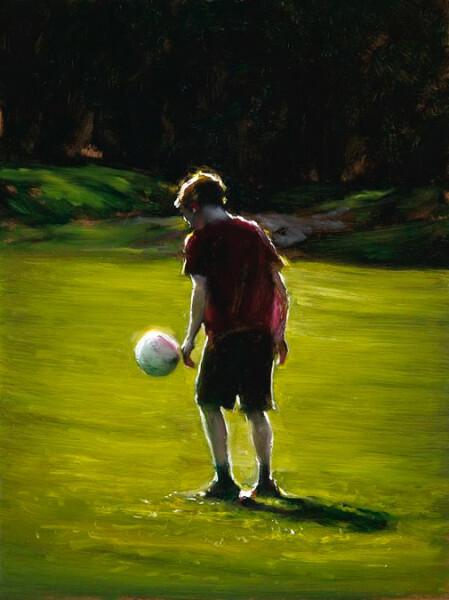 Louise Hearman Untitled #1260, 2007; oil on masonite; 41 x 30 cm; enquire